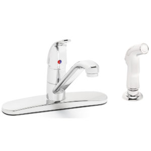 Speakman Commander S-3762-E-HS Single Lever Kitchen Faucet with Hose Spray