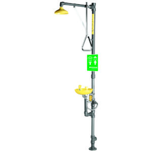 Speakman Traditional Series SE-690-PVC PVC Combination Emergency Shower & Eye/face Wash