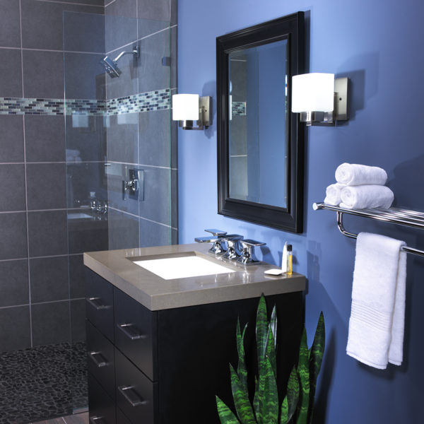 Speakman The Edge SM-9430-P Shower System with Diverter Valve and Tub Spout