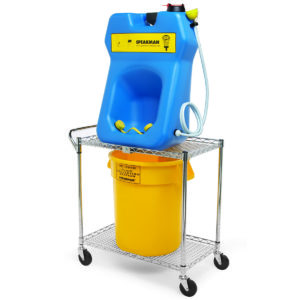 Speakman GravityFlo SE-4380 Portable Eyewash & Transportation Cart