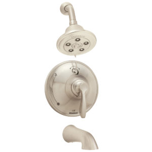 Speakman Chelsea SM-10430-P-BN Shower and Tub Combination with Diverter Valve