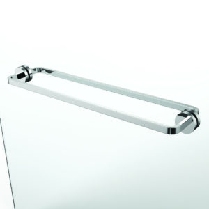Speakman SH-2702 Vector 24in. Back-to-Back Towel Bar for Glass Shower Door