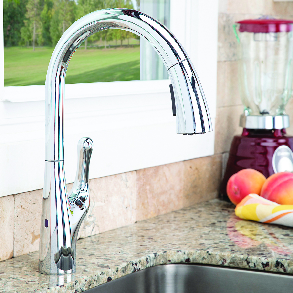 Chelsea Sensor Pull Down Kitchen Faucet - PC