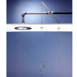 Speakman Lifesaver SE-236 Ceiling Mounted Deluge Shower with Chain & Ring
