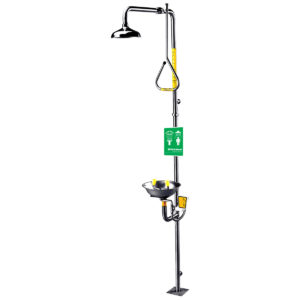 Speakman Traditional Series SE-626 Combination Stainless Steel Emergency Shower with Eyewash