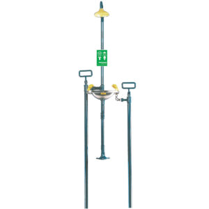 Speakman Select Series SE-609 Freeze Protected Buried Supply Emergency Combination Shower w/SS Bowl Eye/face Wash