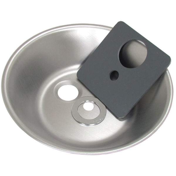 Round Stainless Steel Bowl Repair Group (Tapered Drain)