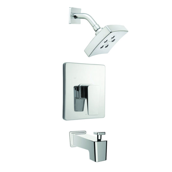 Speakman Kubos Trim, Shower and Tub Combination (Valve not included)
