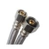 """Speakman SPK-57672US 1/2"""" OD x 1/2"""" FIP x 12"""" Stainless Steel Faucet Connector"""