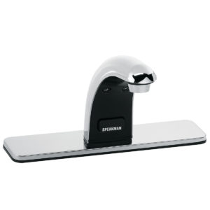 Speakman SensorFlo Classic S-8820-CA-E AC Powered Faucet with 8 In. Deck Plate